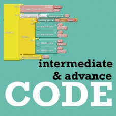 Intermediate and Advanced Coding  (Grades 2-8) Saturday 10:00-11:00AM
