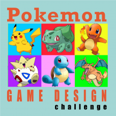 7/23 - 7/27 Pokemon Game Design GR 1-6
