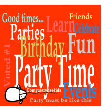 Birthday Party 04/09 1:00pm - 03:00pm