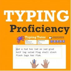 Typing Proficiency - Gr K-8